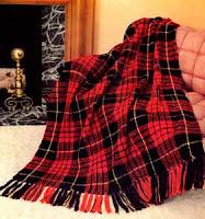 Free Tartan crochet blanket pattern Woven crochet Plaid Afghan