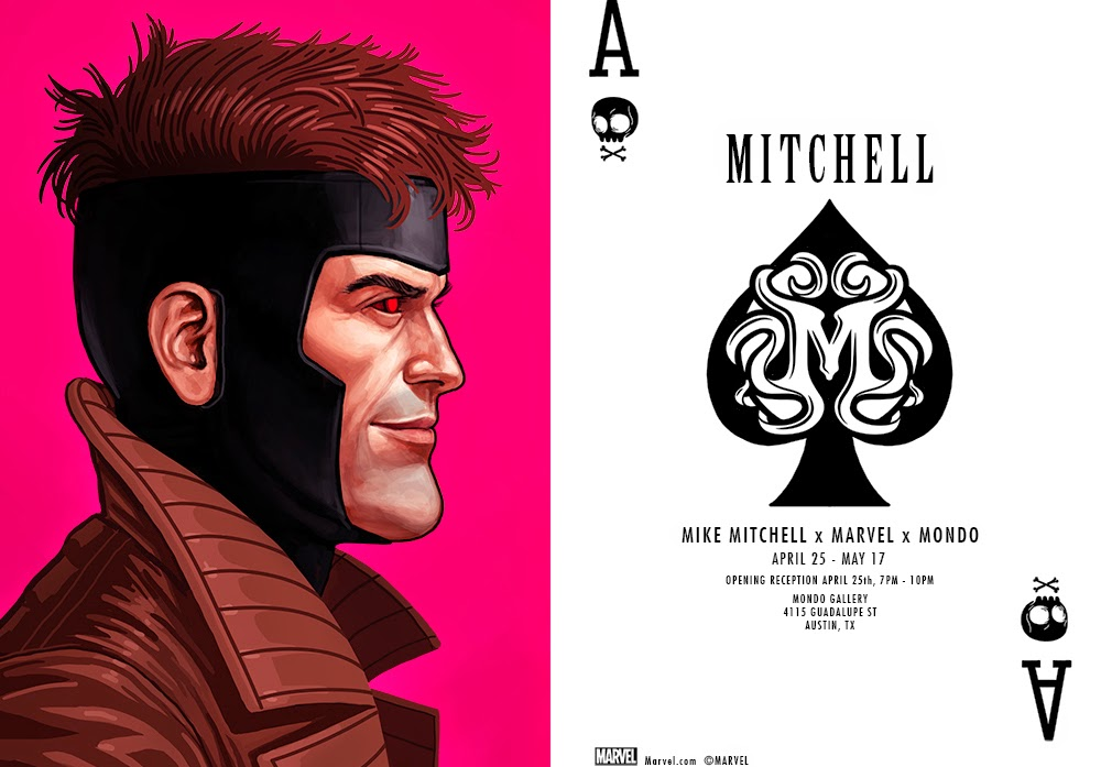 Mike Mitchell x Marvel x Mondo: First Look