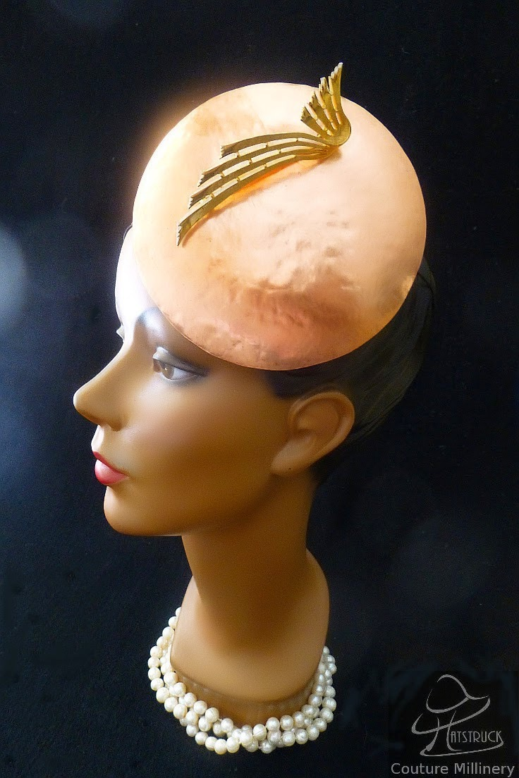 Hatstruck Couture Millinery: Using Alternative Millinery Materials ...