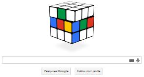 Google homenageia cubo mágico através do seu Doodle