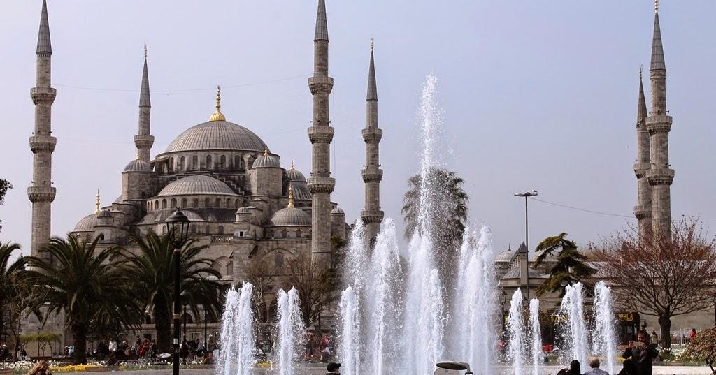 Buisson International: Istanbul, Turkey: Hippodrome, Blue ...