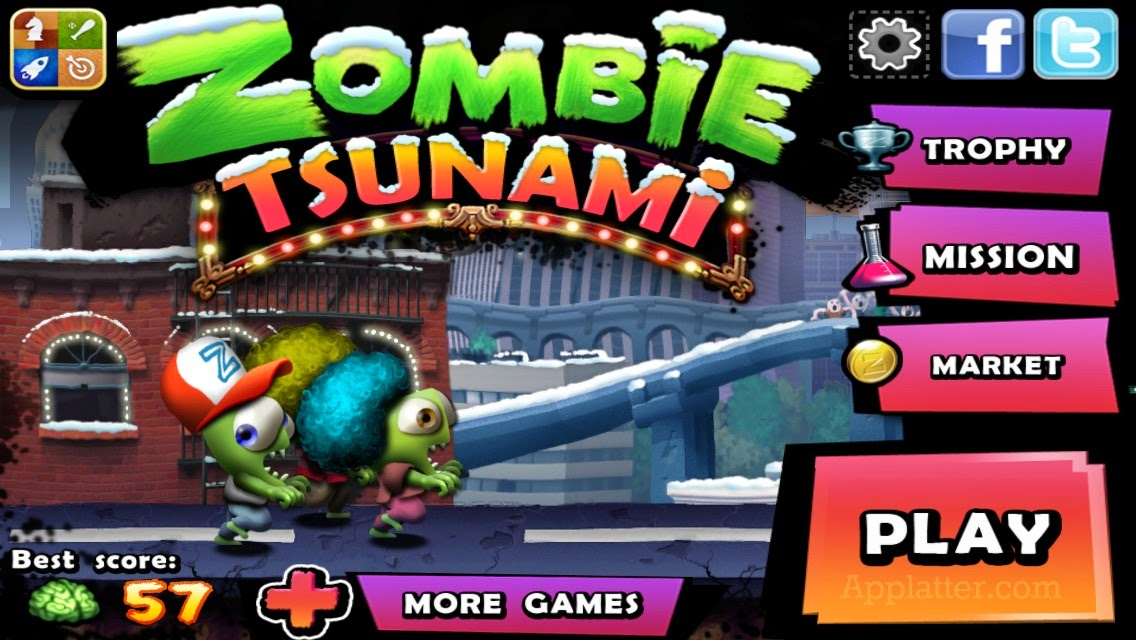 Zombie Tsunami Sınırsız Para Hileli Full APK İndir (43 MB)