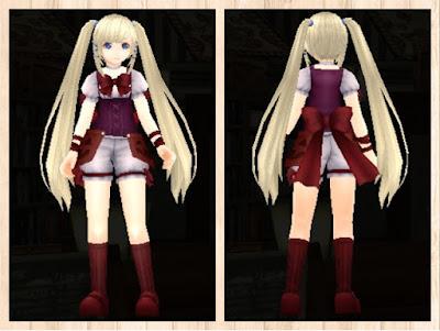 ハロウィンの衣 プレアマ3色(赤紫1+茶2+赤3)