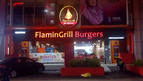 Jom Makan : FlaminGrill Burgers