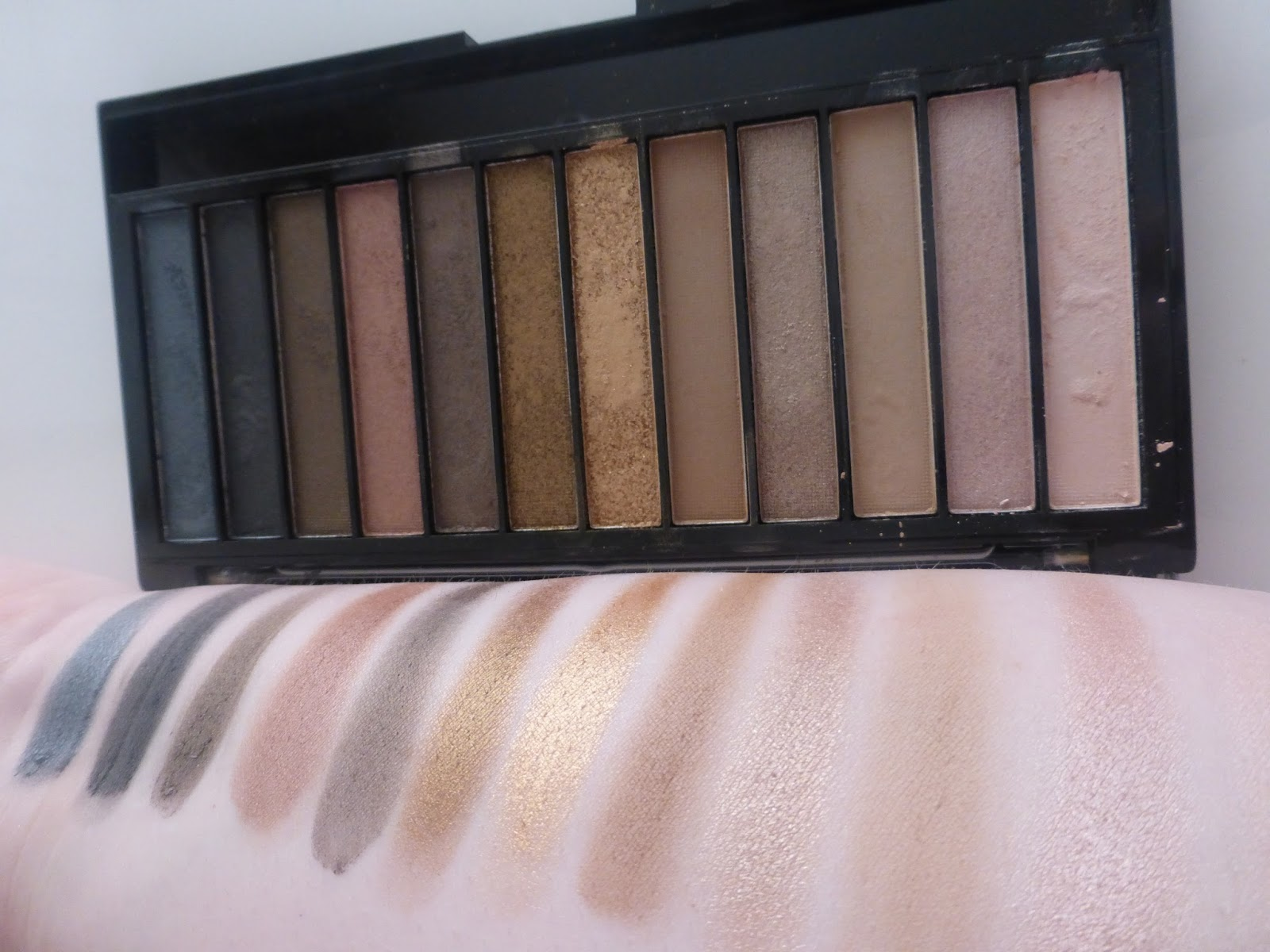 makeup revolution iconic palettes review, swatches