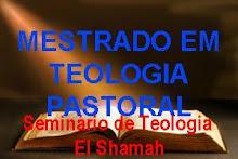 MESTRADO EM TEOLOGIA PASTORAL
