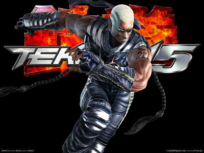 Tekken 5 dvd cover