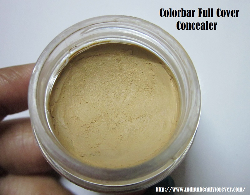 Colorbar Concealer Review and swatches