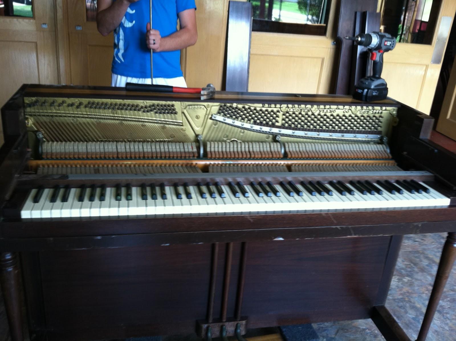 How To Gut A Piano A Lifelong Dream Of Mine Milo Wilson