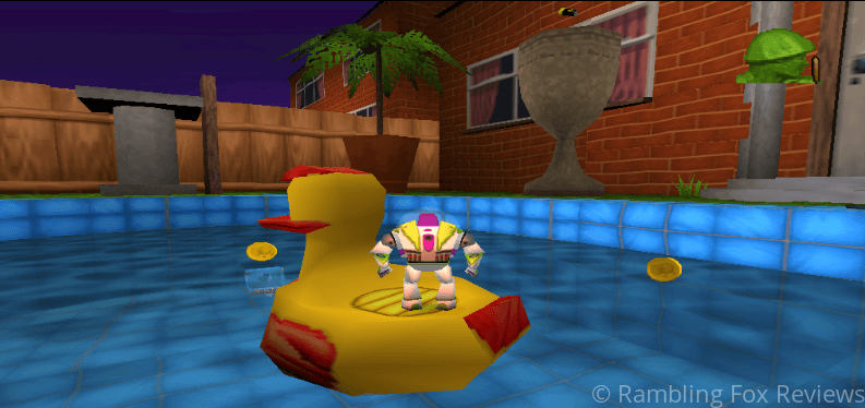 Toy Story 2: Buzz Lightyear to the Rescue swimming pool