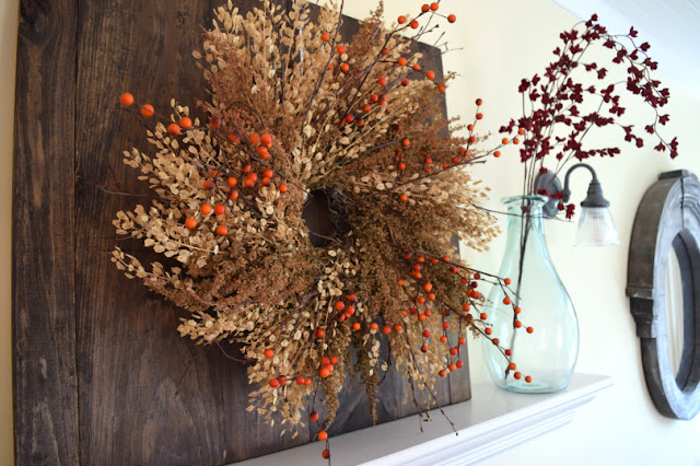 Simple Mantel for Fall