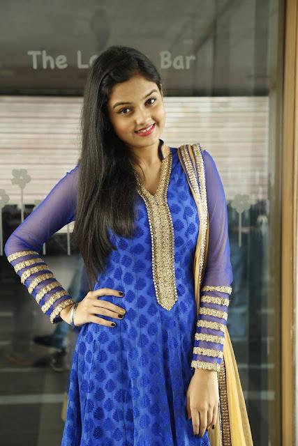 Pragathi Latest Photos At Basthi Movie Teaser Launch