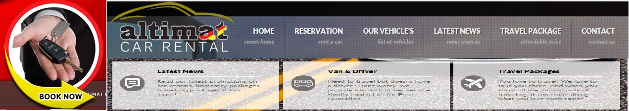 WEBSITE ALTIMAT CAR RENTAL