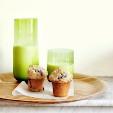 Muffins crumble-myrtilles