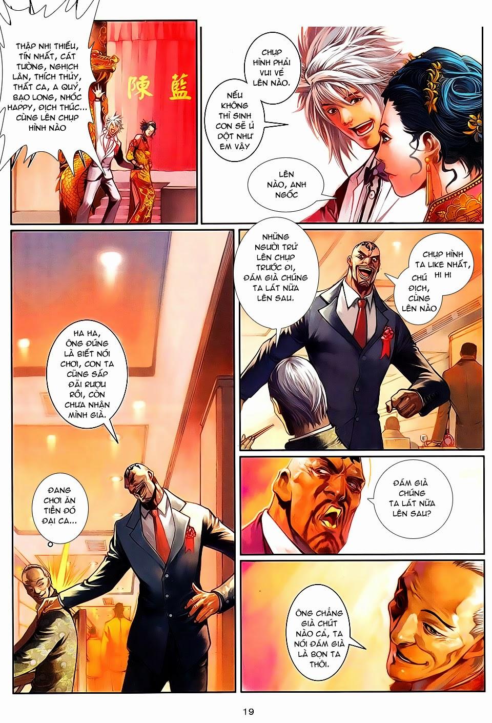 Cửu Long Thành Trại 2 chap 100 - Trang 19