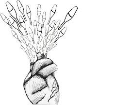 corazón de malabares por paulita