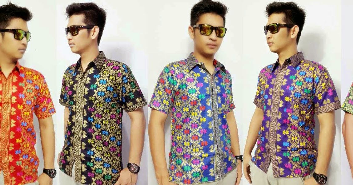 Foto Koleksi Lengkap Fashion Model Baju Batik Pria