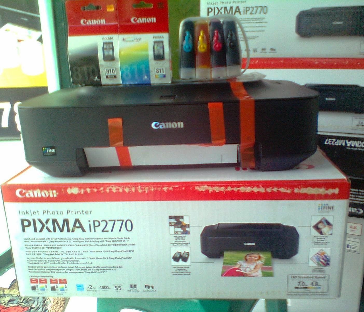 Printer Canon ip2770  infus Catride Original