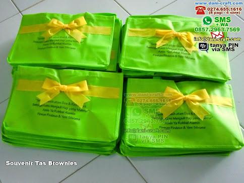 Souvenir Tas Brownies Kain Furing Jakarta Utara