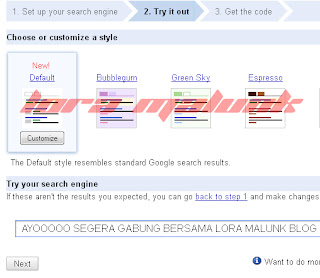 Google Custom