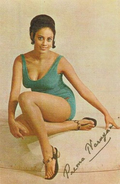 Prema Narayan Hindi Movie Actress and Dancer Prema Narayan 197039s