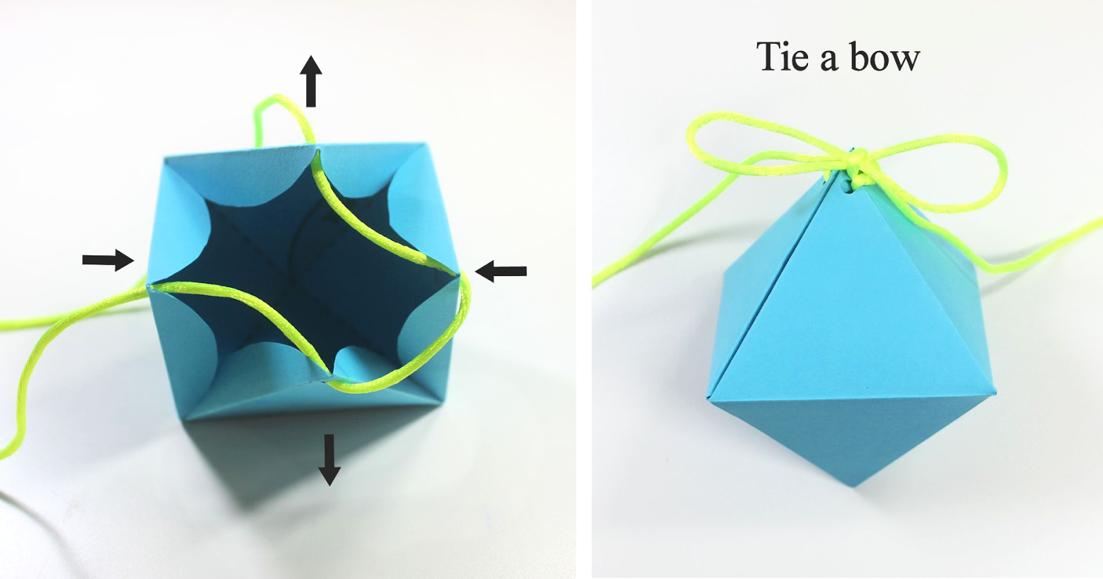 paper gift box template .