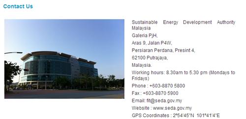 Maklumat SEDA Malaysia