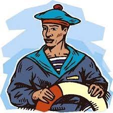 Chistes varios, marinero, paseando, camisa, abierta, barco, tatuado, pecho, travestí,acaricia.