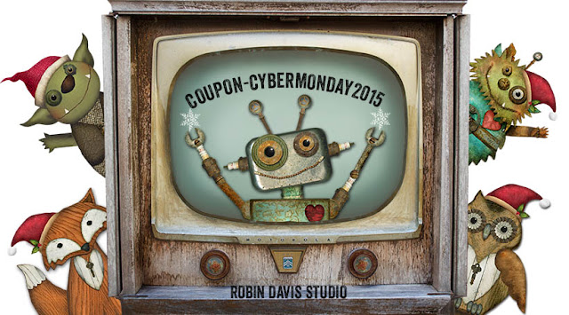 Cyber Monday Coupon - Robin Davis Studio
