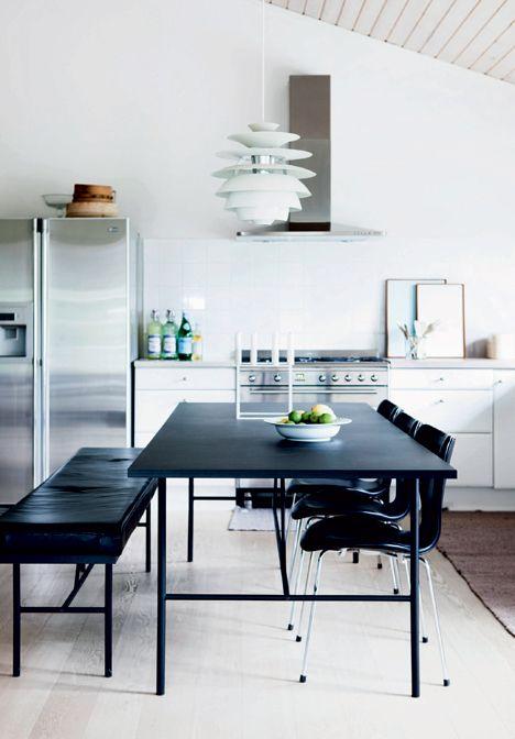 Et køkken til at sidde i, lave mad i og leve i