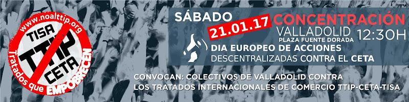 #No al TTIP-CETA-TISA Valladolid