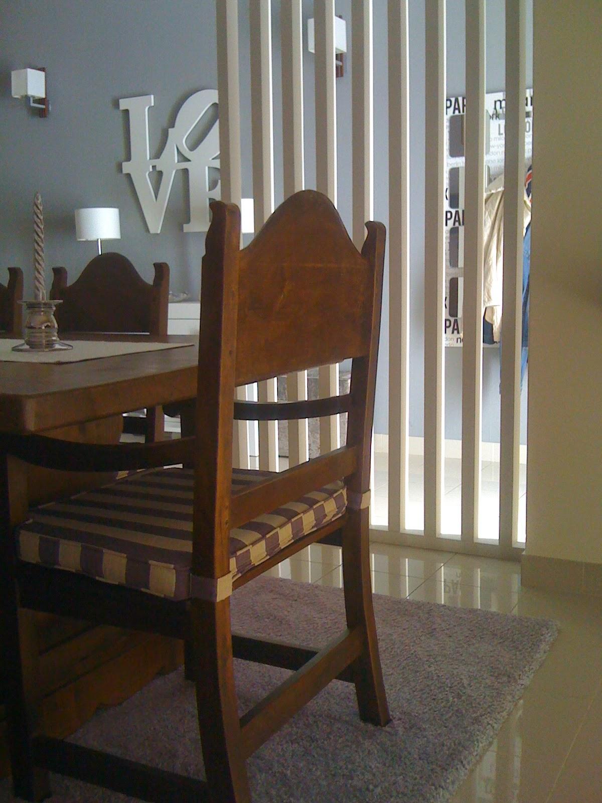 Projeto da minha Sala de Jantar! Silvia Home Decor #5F422F 1200x1600
