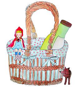 Little Red Riding Hood illustration