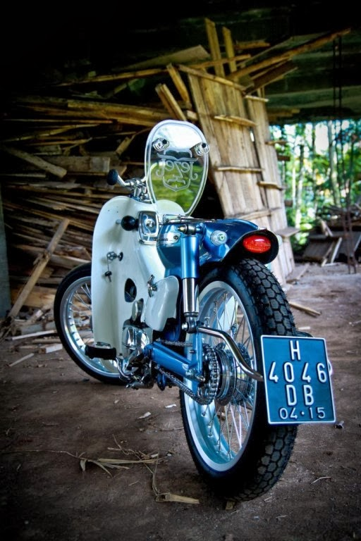 foto modified honda supercub 800