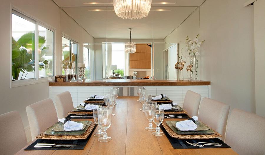 Como Decorar Buffet Sala De Jantar ~  Clean Dúvida da Leitora  Como Decorar a Sala de Jantar Pequena