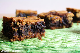Melissa's Cuisine:  Chocolate Chip Cookie Brownie Bars
