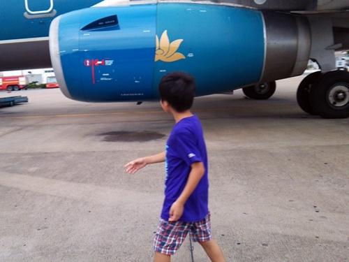 ベトナム航空 SGN-CXR  VN7368