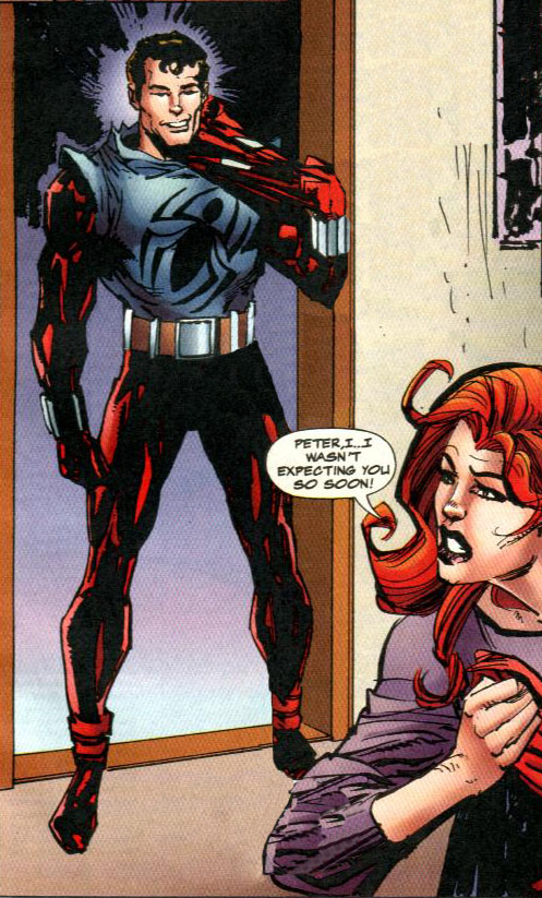 Ben Reilly Spiderman Costumes Cosplay