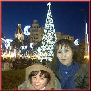 luces de navidad síndrome de rett