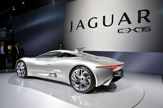 Exceptional Jaguar C X75