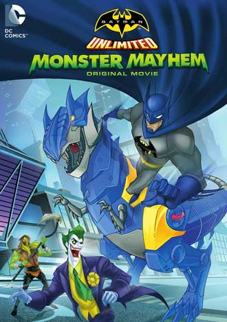 Batman Unlimited: Monster Mayhem (2015) DVDRip Subtitulados