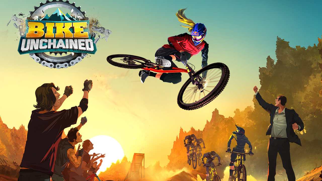 Bike Unchained Gameplay IOS / Android