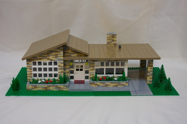 Mad For Mid Century Mid Century Modern Lego Homes