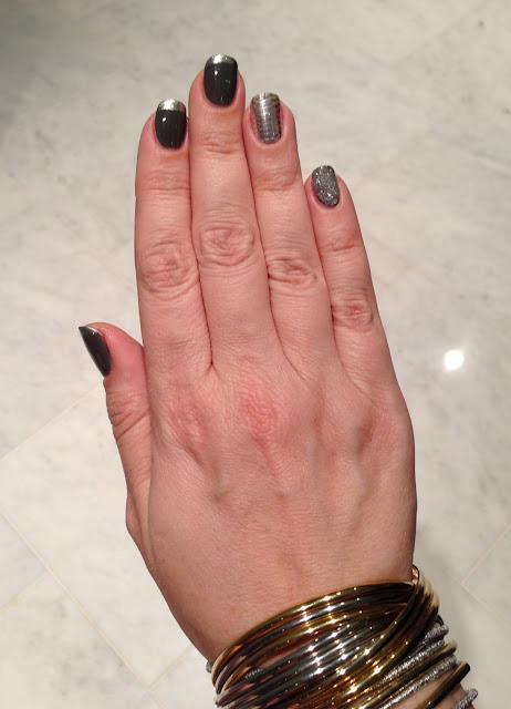 Wonderful Silver Nails Designs
