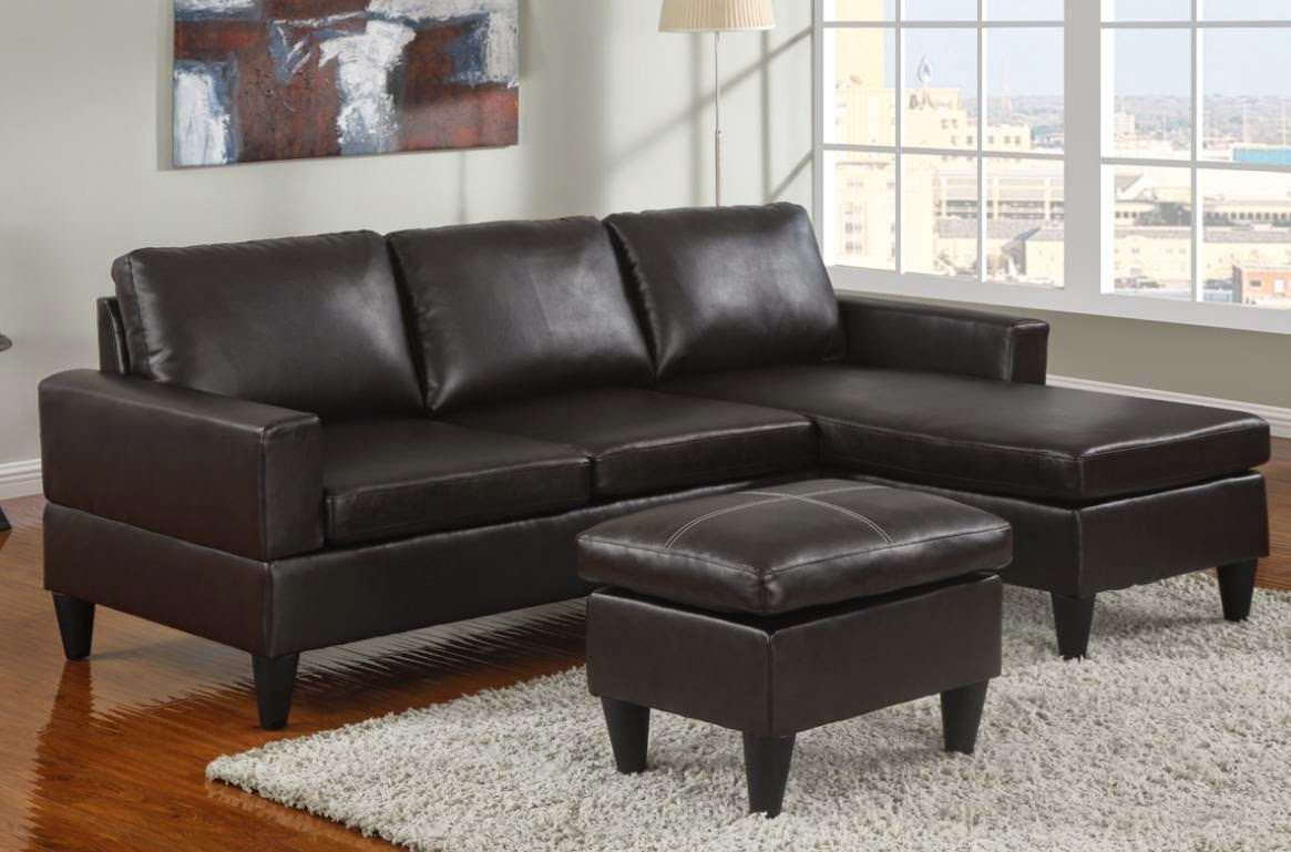 apartment sofa with chaise - Small Sectionals For Apartments. . White Leather Small Sectionals