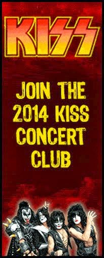 2014 KISS CONCERT CLUB Merchandise