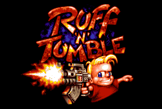 Ruff 'n' Tumble title screen