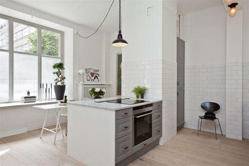 W domu Marty Szara kuchnia z Ikea II