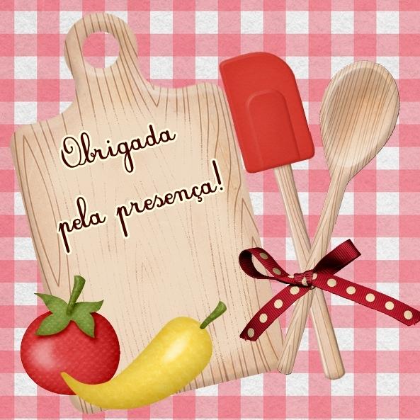 Para Ch   De Cozinha  Convite E Tag