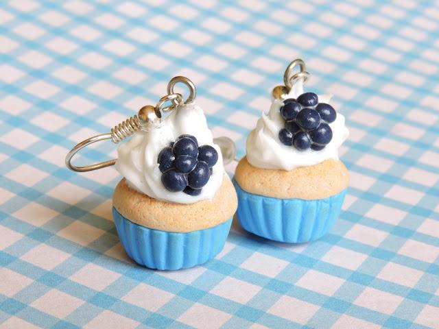 Niebieskie muffiny